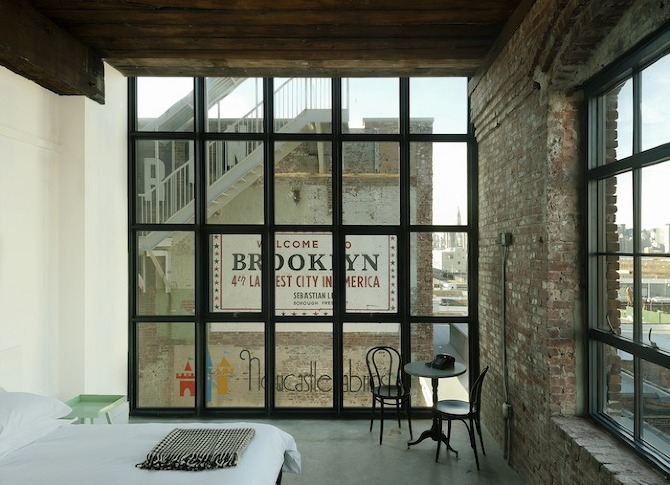 Wythe%20Guestroom%204 Wythe Hotel in THISISPAPER MAGAZINE