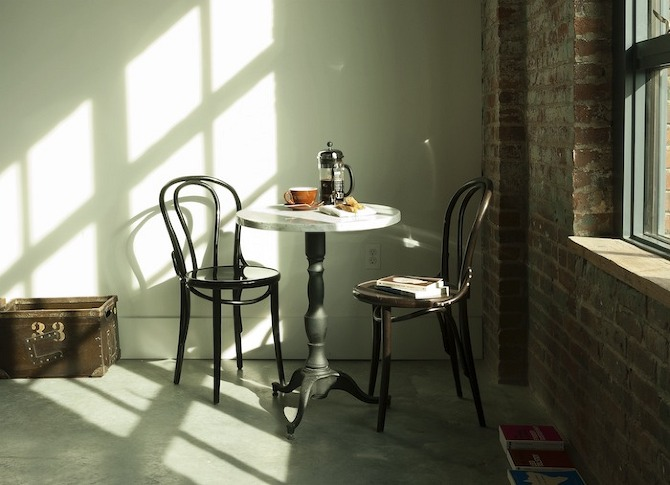 Wythe%20Table%20and%20Chairs Wythe Hotel in THISISPAPER MAGAZINE