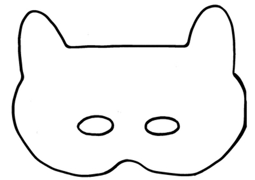 save the cat template - pin cat mask template right click to save re size before