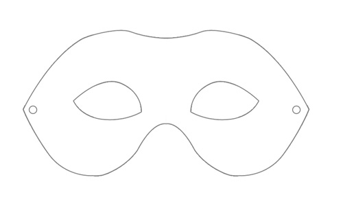 Displaying (19) Gallery Images For Blank Mask Template To Print...