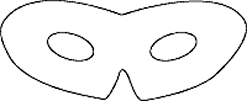 Get Free High Quality HD Wallpapers Eye Mask Coloring Page