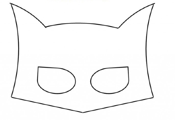 Batman Mask Template Images & Pictures - Becuo